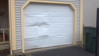 Garage door panel replacement columbus oh for How much does a garage door repair cost